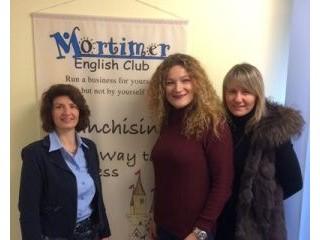 Mortimer英语俱乐部在法国开始新的特许经营合作伙伴