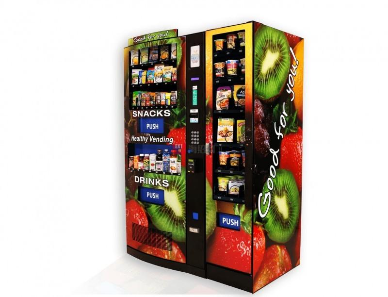 美国交互式触摸屏自动售货机