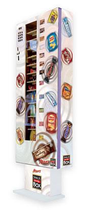 英国零食自动贩卖盒