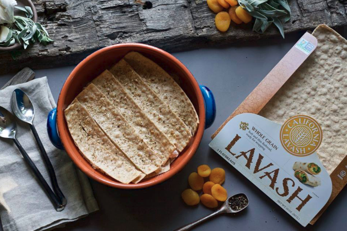 California Lavash whole grain flatbread
