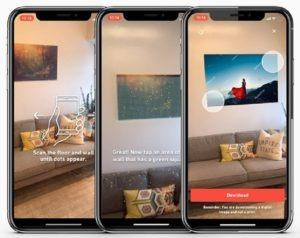 Shutterstock在iOS上发布了新的AR应用