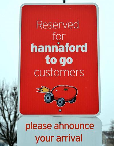Hannaford的新车型注重新鲜