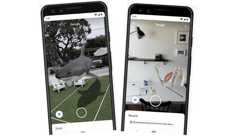 谷歌宣布计划将AR添加到其搜索功能