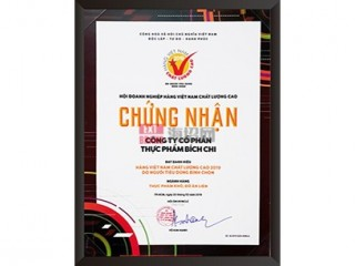 Bich Chi CPTP公司秉承高品质越南商品的称号