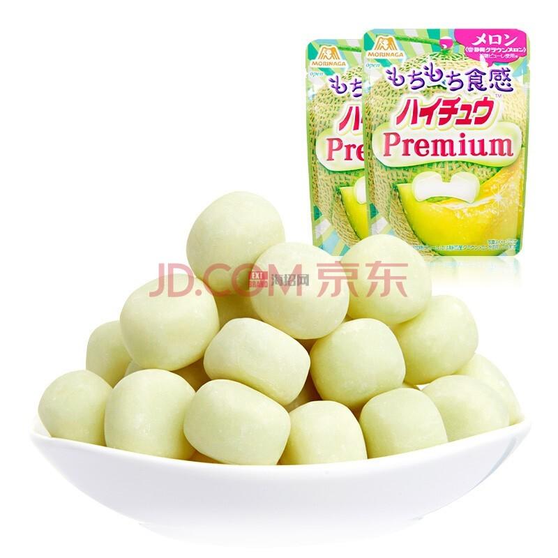 日本森永嗨啾HI-CHEW水果软糖 密瓜味35g