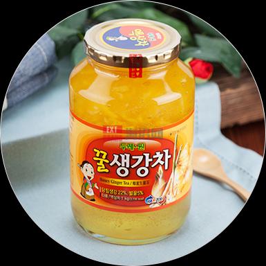 韩国蜂蜜生姜茶