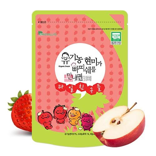 韩国有机糙米遇见Patissier和水果朋友
