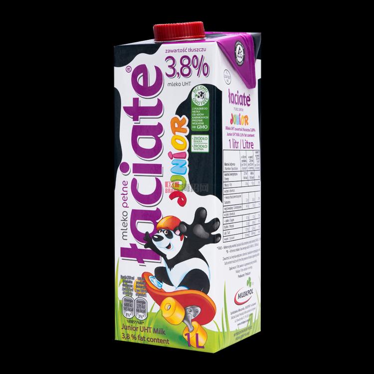 波兰ŁaciateJuniorUHT牛奶3,8%