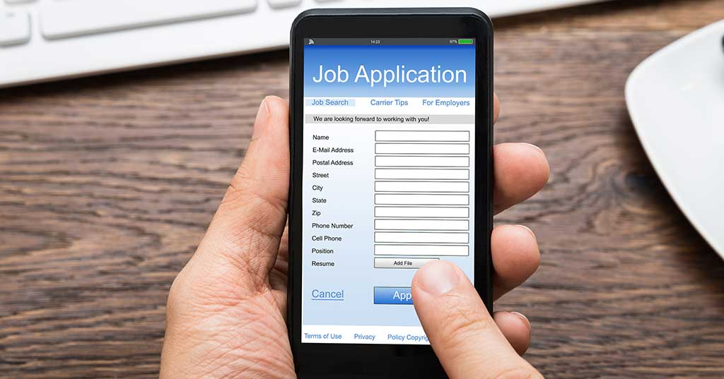 让求职申请在24小时内方便跟进