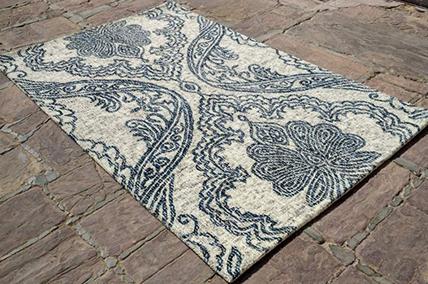 印度手工簇绒地毯