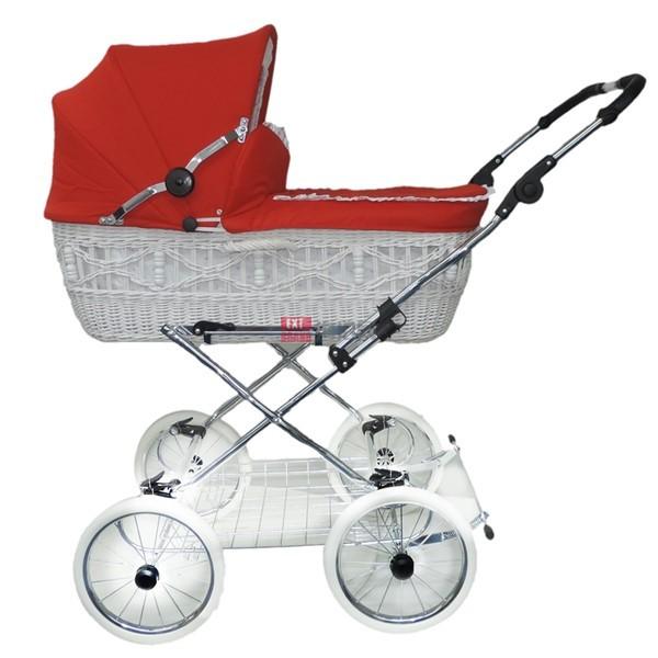 德国柳条筐婴儿推车