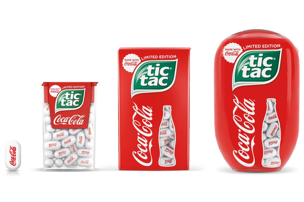 Tic Tac推出可口可乐口味薄荷糖