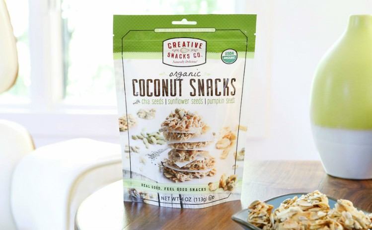 Creative Snacks' Coconut Snacks and Almond Clusters have both won trade show awards. Pic: Creative Snacks