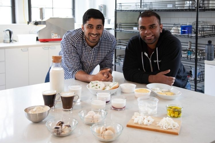 Perfect Day cofounders Ryan Pandya (left) and Perumal Gandhi (right). Picture: Courtesy of Perfect Day