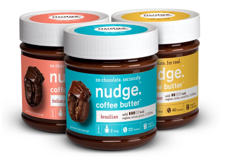 nudge coffee butter