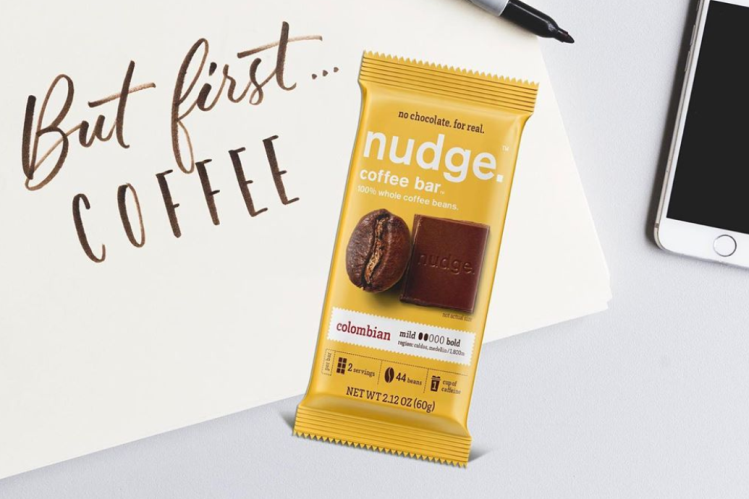 Nudge in a new direction? The Whole Coffee Co unveils edible coffee bars, butters
