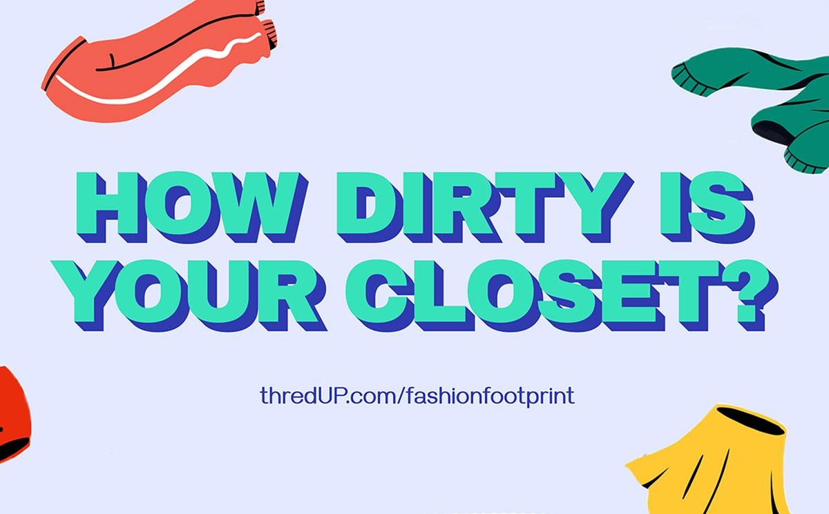 ThredUp推出时尚足迹计算器,帮助消费者了解他们对环境的影响