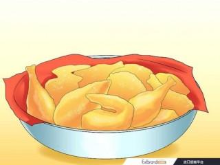炸鸡怎么吃?如何吃炸鸡:15步(附图)