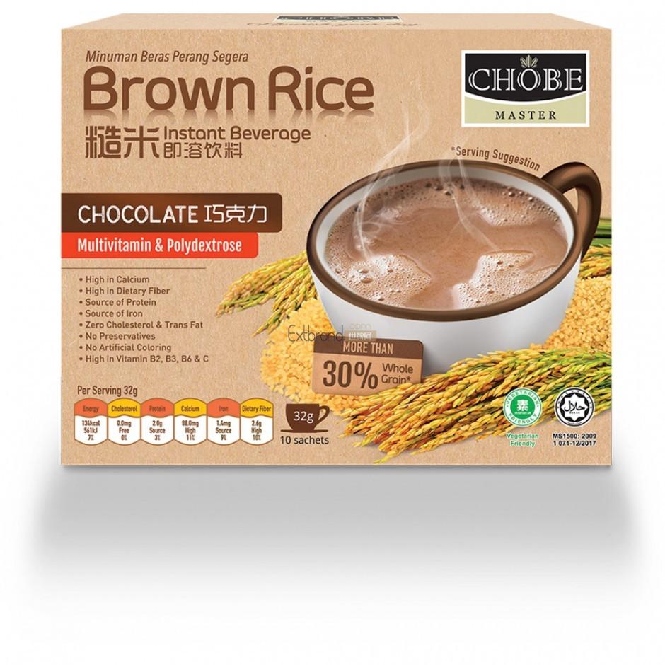马来西亚巧克力+糙米即溶饮品 (小孩最爱)