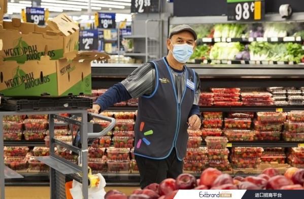 """尽管受到刺激支出的反直觉影响,但沃尔玛的食品杂货业务依然""""稳健"""""""