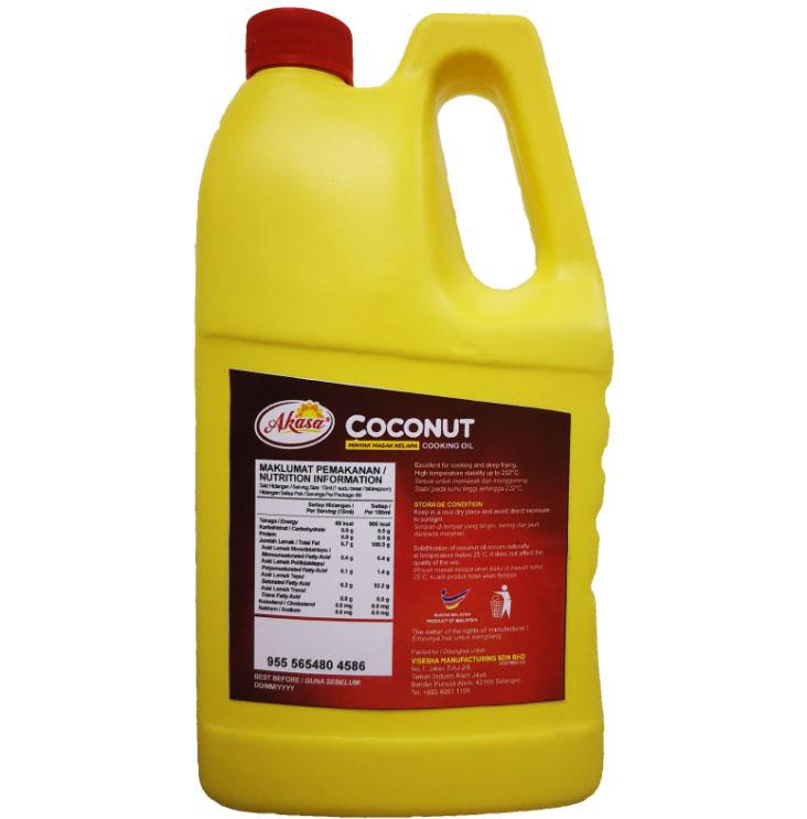 马来西亚进口Akasa椰子食用油
