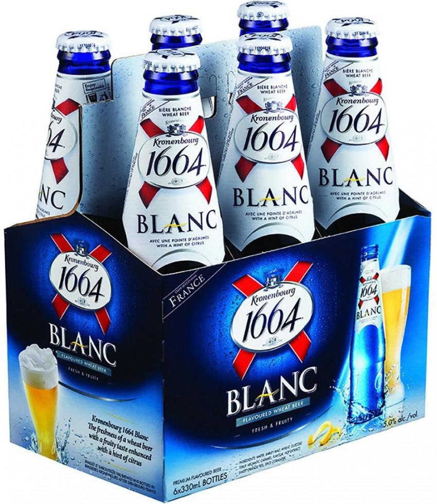克朗堡1664白啤酒