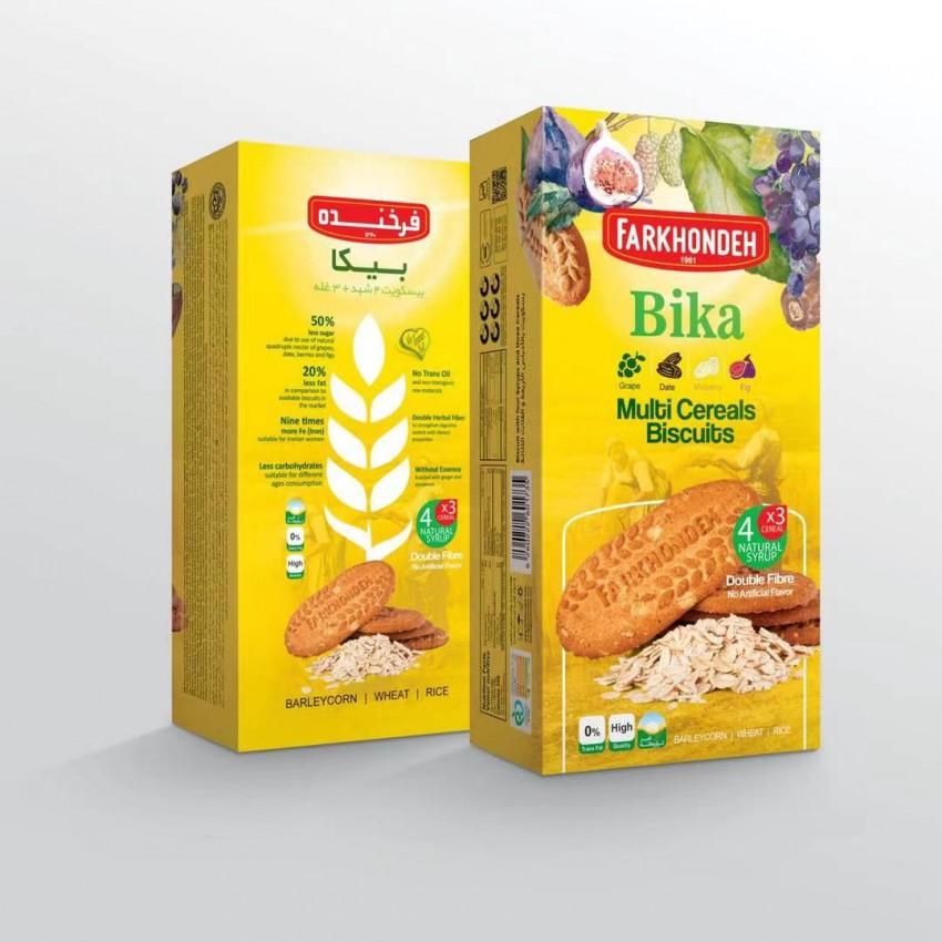 Farkhondeh 德国进口谷物甜饼干、可可味谷物饼干